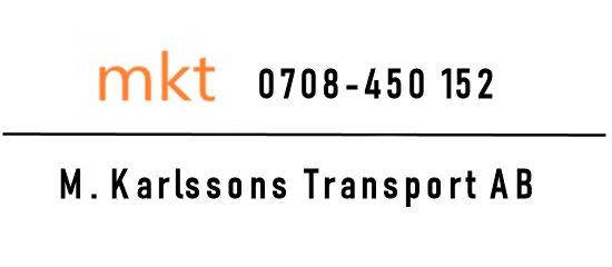 M.Karlssons Transport AB
